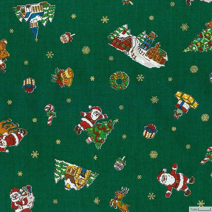 生地 ホビーラホビーレデザインコレクション クリスマスタウン<G>