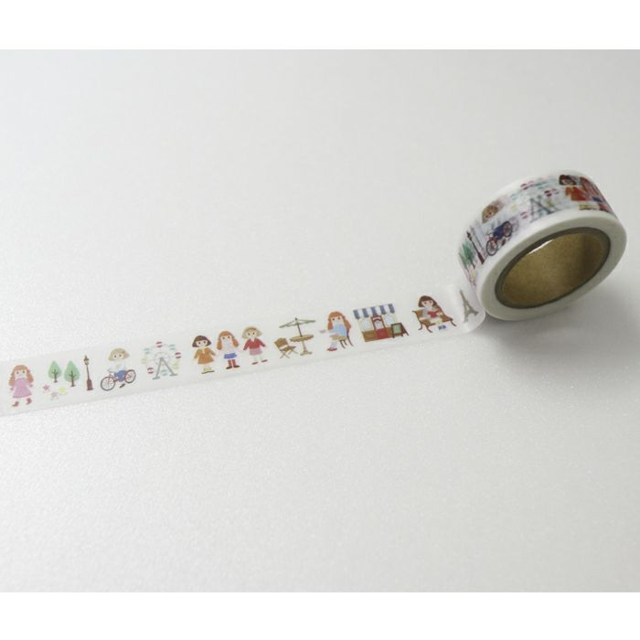 マスキングテープ<ニーナのパリ散歩>